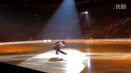 Stephane Lambiel - Paint It Black - Art On Ice 2013, Helsink
