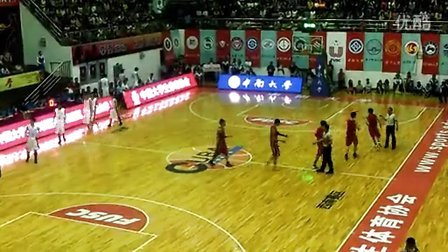 中南大学VS武汉理工大学(十五届CUBA西南赛区决赛,赛前热身)