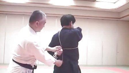 常陸之国伝承円空流柔術「早縄術参本目」背合せ