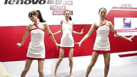 2013 台北春季電腦展 Lenovo 聯想 開場舞蹈表演 張景嵐陳育涵
