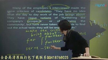 2013年 自考会计(本科)03、英语二-精讲班-Unit1 第三节