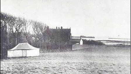 The first TopBand DX Contest 1921Transatlantic Test - W3LPL