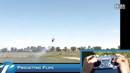 HELI 直升机 3D飞行教学 自旋翻