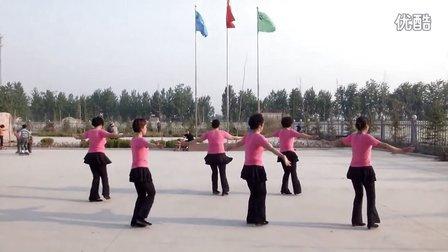 美丽的大草原 广场舞 周庄 沛县 五段镇  舞彩
