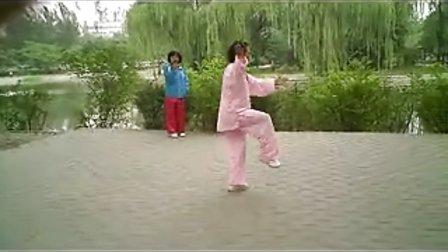 北京陈式太极拳简化48式正向演练-秦兰玲