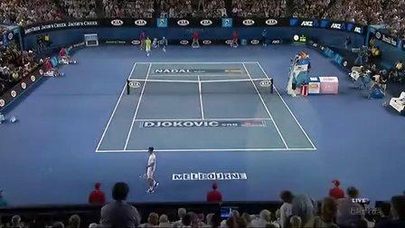2012年澳网 男单决赛 德约科维奇VS纳达尔 全场 ESPN