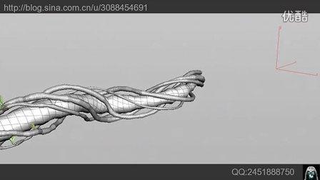 CG植物生长动画houdini