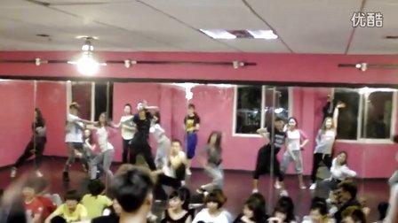 长沙HUK舞团 五一专攻班 可心老师 Wacckin班视频