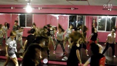 长沙HUK舞团 五一专攻班 郭雪老师 JAZZ班视频