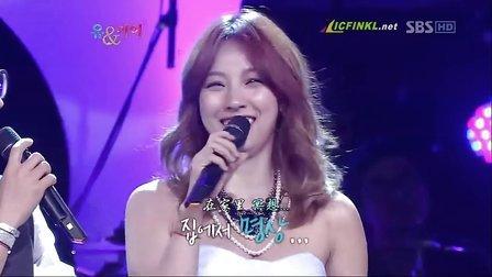 李孝利&SE7EN &郑在型 - You&I SBS全场【韩语中字】