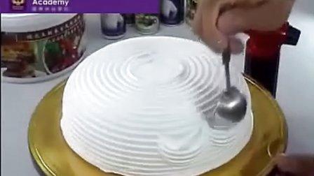很强的蛋糕裱花装饰