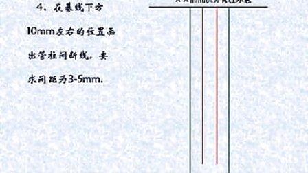 采油工  - 根据资料绘制油井管住图