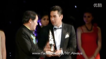20130504 Mekhala颁奖礼Nadech获最受大众欢迎男主演奖饭拍片段