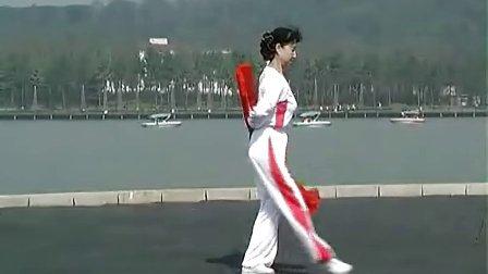 木蘭拳-長綢扇應美鳳