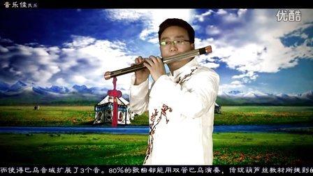 天路 音乐佳F黑檀木双管双管巴乌 杨捌伍演奏作品