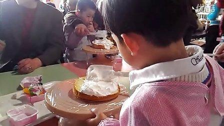 24APR—幼儿园亲子活动元祖工厂做蛋糕