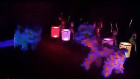 开业庆典必需节目水鼓加夜光舞狮