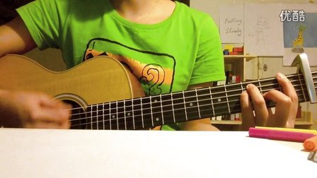 <Falling Slowly>  covered by 陈懒懒