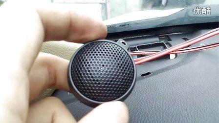 c50改音响之高音喇叭固定方法及走线1