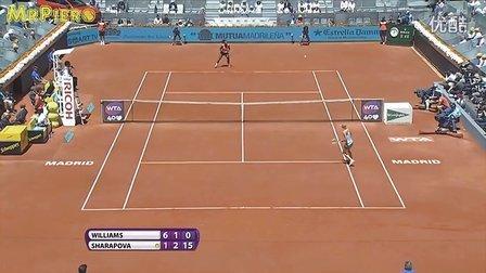 WTA 2013马德里决赛 小威廉姆斯 vs 莎拉波娃 HL