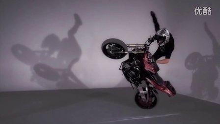摩托特技+舞蹈