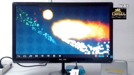 凿子科技出品 四核迷你电脑魔米M1 安兔兔测评跑分教程