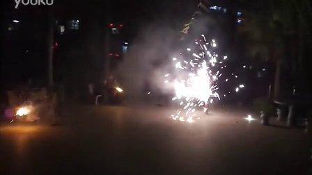 2013春节玩烟花