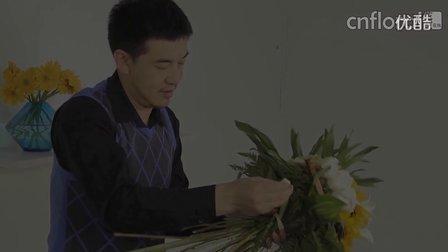 开花店入门花型 花艺在线携手万宏打造不一样的花艺视频教学