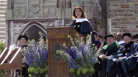 梅琳达·盖茨在杜克大学2013届毕业典礼上的演讲