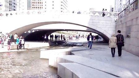 韩国清溪川 随景随拍
