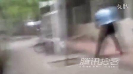 泰国新闻中的中国打狗视频