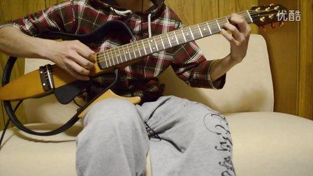雨的印记(Kiss the rain)吉他版 高音质!静音吉他