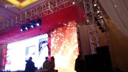 去年干婚礼  灯光音响LED屏  3
