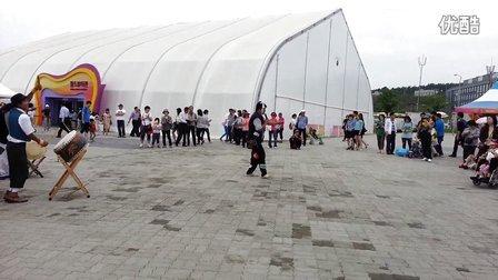 五松世界化妆品博览会 民间文化表演
