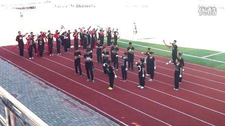 巩留县高级中学2013首届运动会表演2