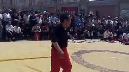 天津 海河 民俗 文化 摔跤 表演