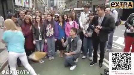【@YouTube热门精选】搞笑的现场求婚被拒