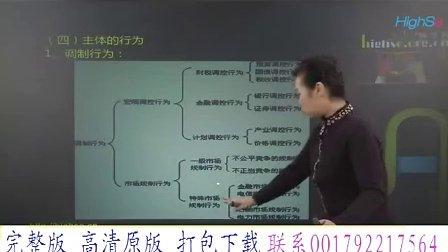 中级财务会计职称考试培训 经济法 基础班01、第一章 经济法总论