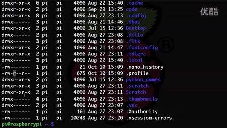 树莓派-教程7-编辑文档,使用root账户