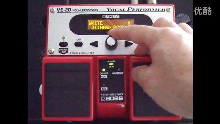 VE-20效果器 海蓝琴行