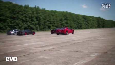 McLaren MP4-12C vs Ferrari 458 vs Noble M600 vs Turbo s
