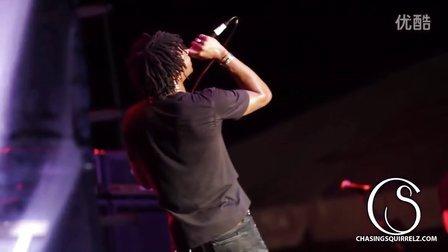 Lupe Fiasco - Kick Push (live) - Schaeffer Eye Center Crawf