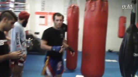 格斗教学:泰拳的力量和体能训练