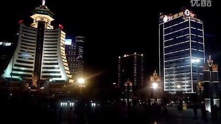 贵阳市筑城广场夜景