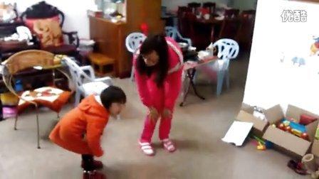 和妈妈跳舞--巧虎,碰碰身体