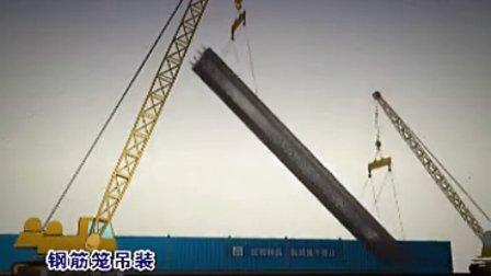 地连墙成槽工艺+钢筋笼吊装工艺+半盖挖法施工工艺