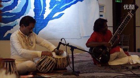 巅峰对决(一)—Sitar西塔琴与Tabla塔布拉鼓在顶轮的对话 国际著名IndiaLucia组合