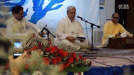 心灵歌手Sanjay—Nirmal Sangeet Sarita乐队在国际佛陀纪念活动中的演出