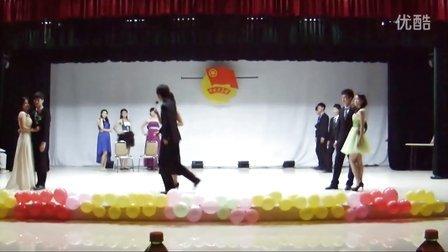 show time 2013年安徽财经大学礼仪队走秀