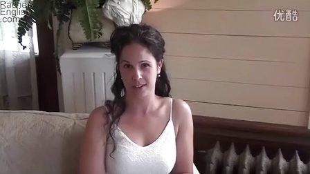 美国口音-Rachel-Weddings-2-Syllable Words Stress